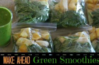 Make Ahead Green Smoothies (or ANY Smoothies)