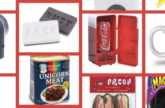 Unicorn Meat, Bacon Toothpaste & Wonder Woman socks | 25 Hilarious White Elephant Gift Ideas