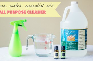 All Purpose Cleaner using 3 ingredients.