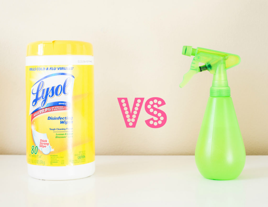 All purpose cleaner using 3 easy ingredients