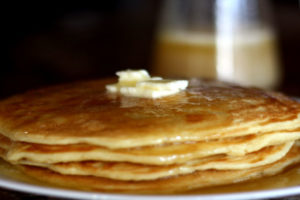 A new favorite- Easy Homemade Buttermilk pancake recipe that freezes well!