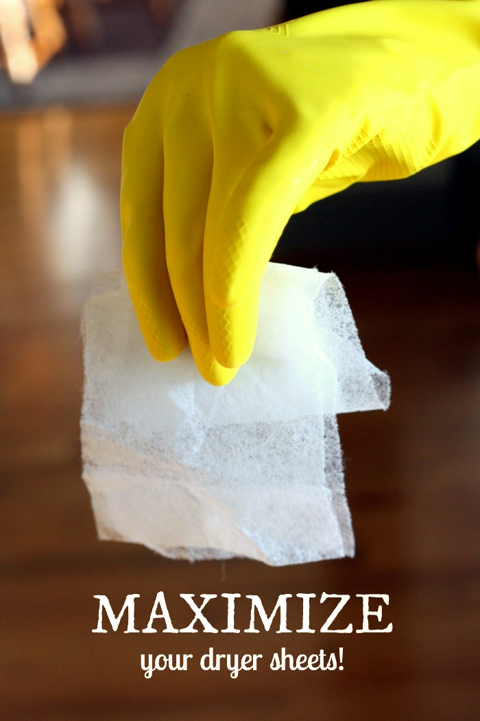 Ways to reuse your Dryer sheets. So cool!