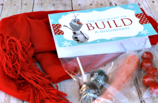 Got Snow? Let's Build a Snowman Kit + Free Printable