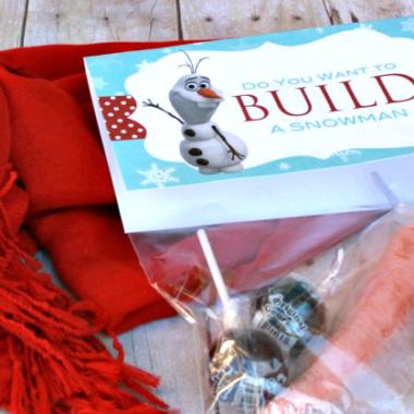 Got Snow? Let's Build a Snowman Kit + Free Printable