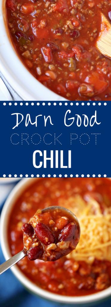 Darn Good Chili Recipe | Freezer Friendly Crock Pot Recipe | Happy Money Saver