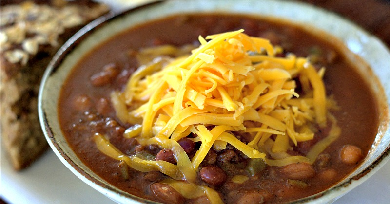 easy home cooked dinner ideas. this darn good chili recipe is a cook off winner! so easy to make home cooked dinner ideas