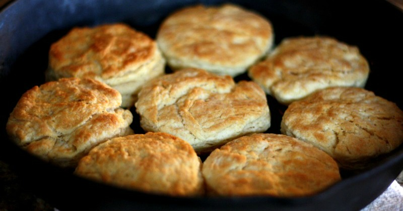 Making Vintage Buttermilk Biscuits recipe from Great Grandmothers old recipe box. These were so yummy!