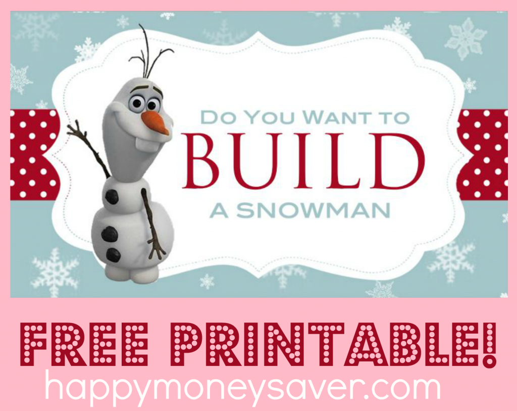 Versatile image in do you want to build a snowman printable