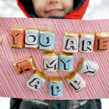 """You Are My Happy"" Free Candy Bar Printable Wrappers"