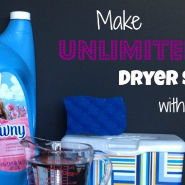 Thrifty Tip: Unlimited Dryer Sheets