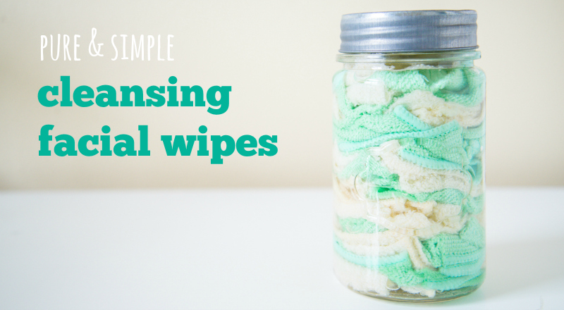 Make your own anti-aging and acne fighting facial wipes for cheap! Easy and saves a ton of money.