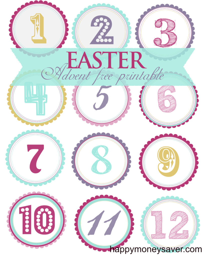 EASTER ADVENT Calendar