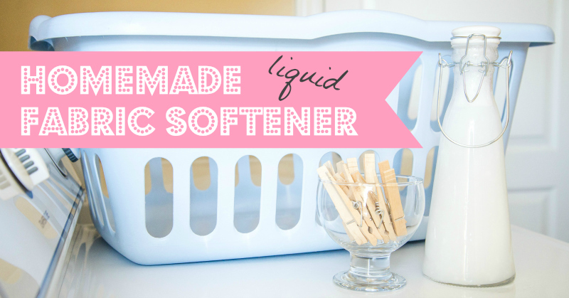 Homemade liquid fabric softener recipe tested - How to make your own fabric softener ...
