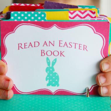 FREE Printable Easter Advent Calendar
