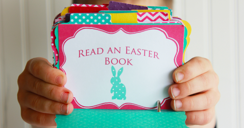 Easter Advent Calendar a great way to celebrate Easter with your own family. (#happythoughts)