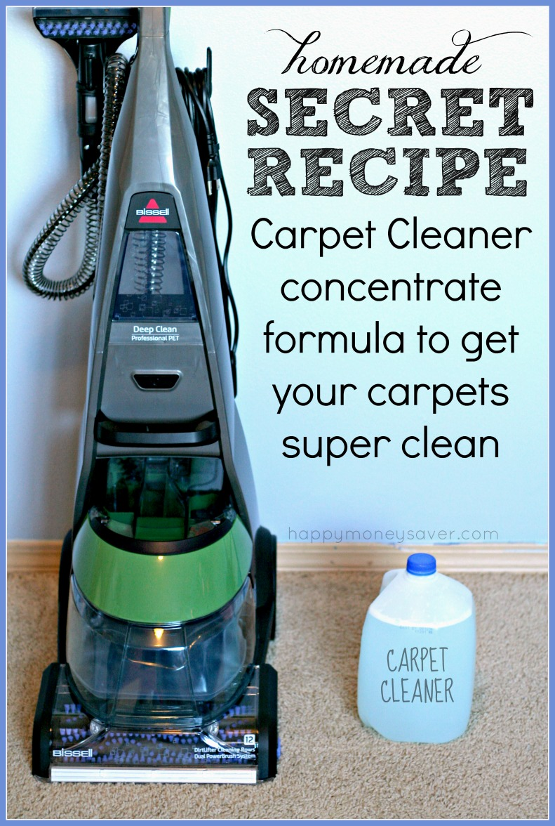 The Best EVER Homemade Carpet Cleaning Solution