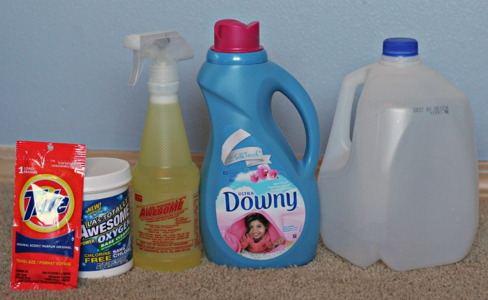 how to get baking soda out of carpet: Using Detergent