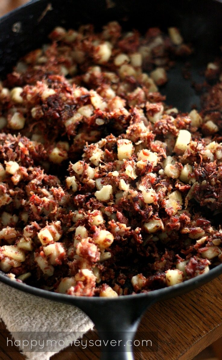 Corned Beef Hash- recipe is quick, easy, and tastes way better than ...