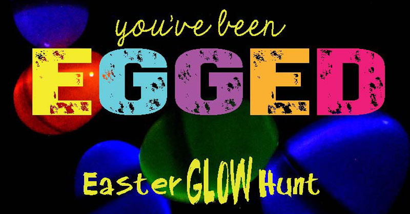 """You've Been Egged"" Easter idea is a fun activity to do with your family and for your friends. #happythoughts #easterglowhunt #youvebeenegged"