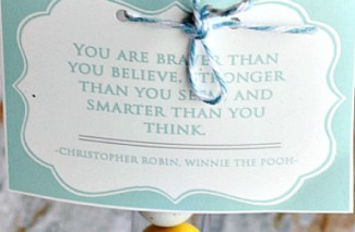 Winnie the Pooh & Alice in Wonderland – Inspirational Quotes