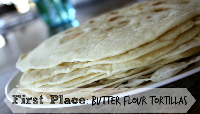 Homemade Flour Tortilla Recipe Test - Butter Flour Tortillas WON first place! See the recipe that won here!
