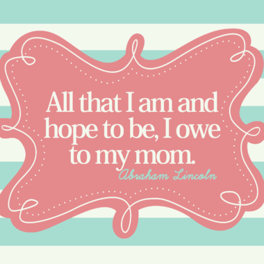 Mother's Day Card-FREE PRINTABLE