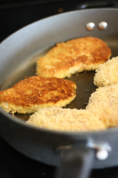 Lemon Parmesan Pork Chops- Best pork chop recipe out there and it feeds a family of 6 for under $10. Delicious and frugal!!