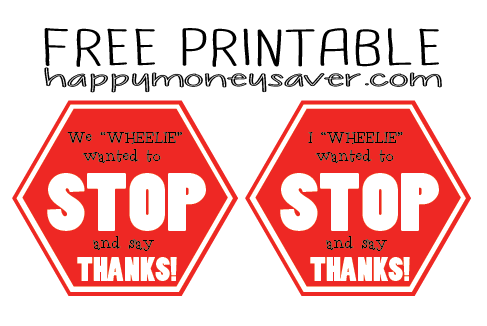 Stop and say thanks bus driver gift idea free printable use this printable for a bus driver appreciation idea happythoughts busdriverlove solutioingenieria Choice Image