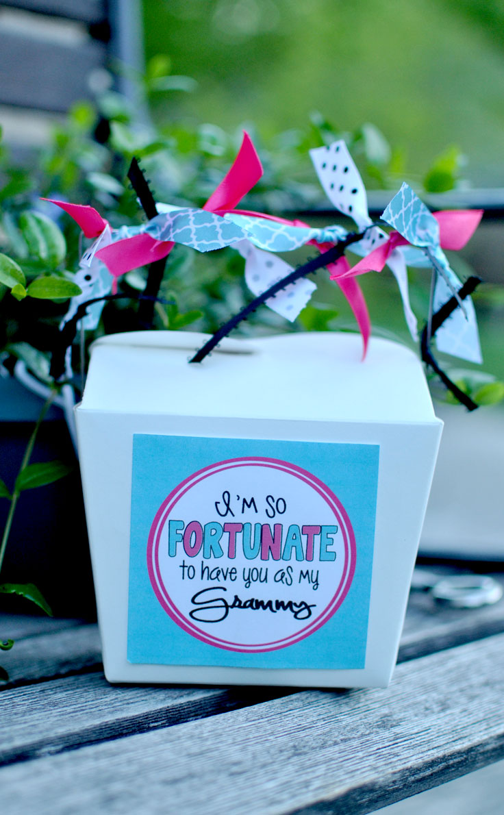 """Fortunate to have you"" Mother's Day Gift Idea is perfect for that special day! #happythoughts #momday"