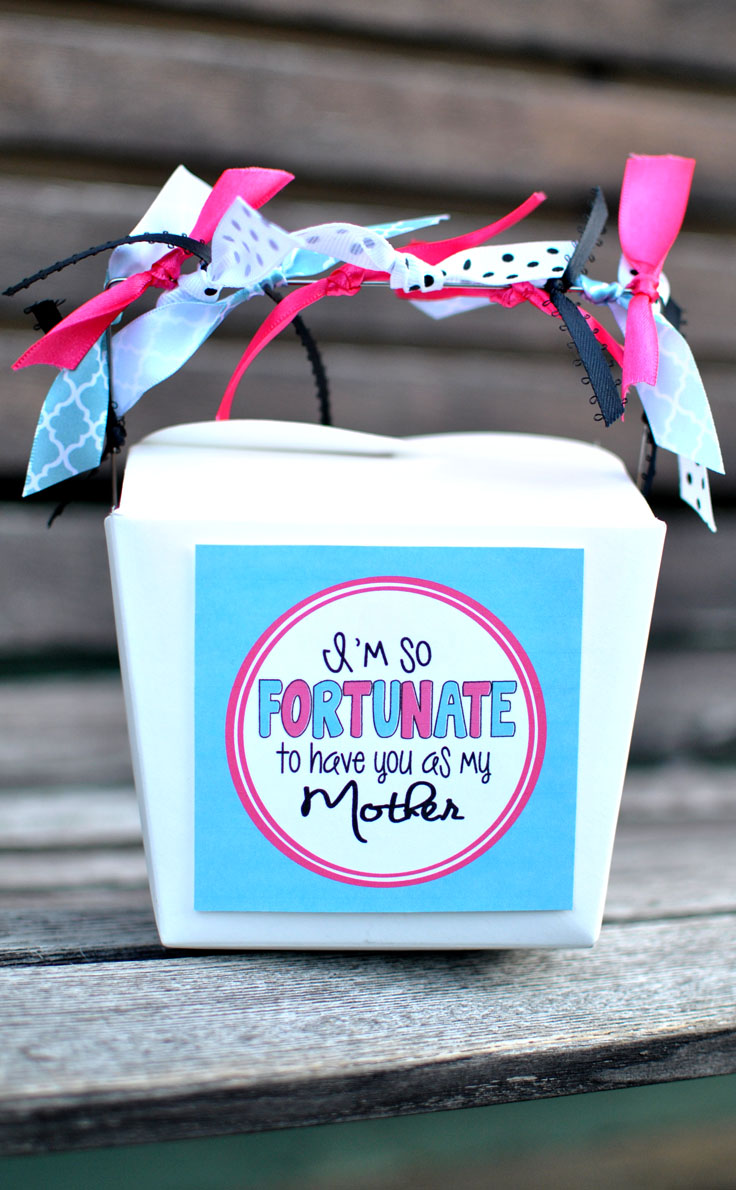 "You will love this ""Fortunate to have you"" Mother's Day Fortunes! #happythoughts #momday"