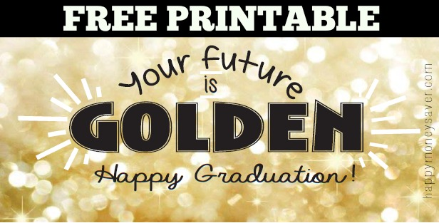 Free printable for this clever money and chocolate. #happythoughts #happygraduation