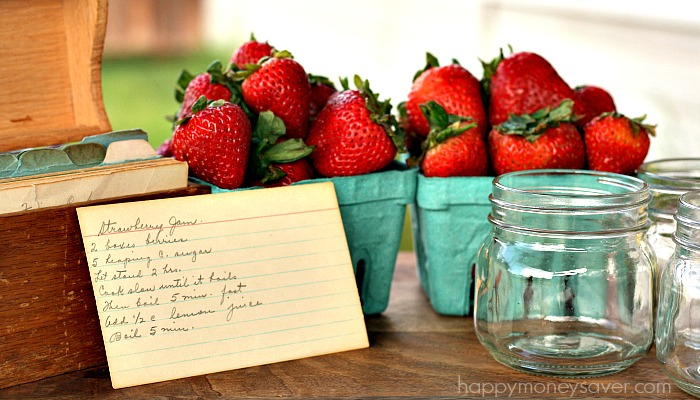 Old Fashioned Strawberry Jam