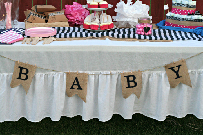 Nautical Themed Baby Shower Decorations