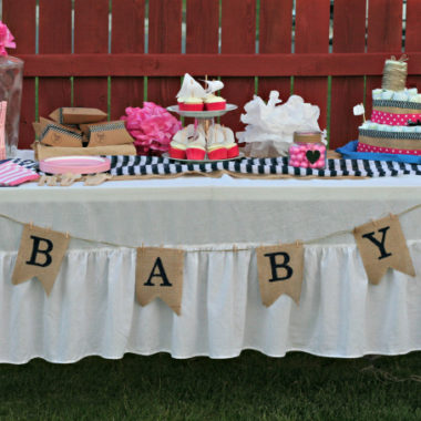Ahoy! It's a Nautical Themed Baby Shower