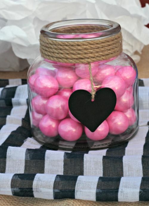 Pink Bubblegum Baby Shower Decoration