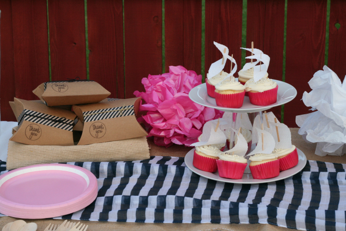 Nautical Girl Baby Shower Ideas