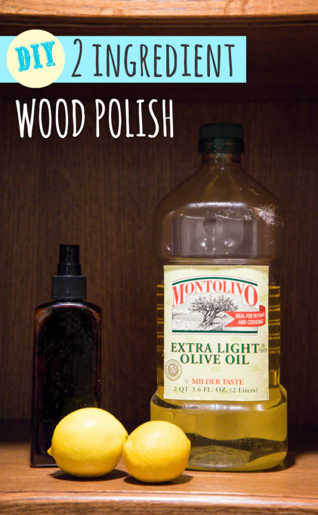 Simple 2 ingredient diy wood polish happy money saver for Homemade wooden furniture polish
