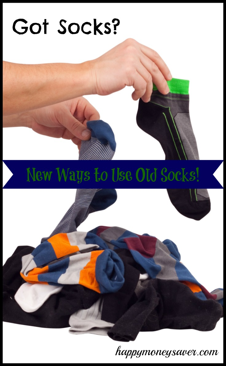 Looking for a way to reuse socks in your home? I never knew there would be so many new projects including an exercise armband and even a perfect bun for my hair! Check them out!