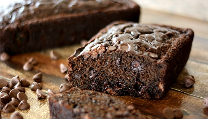This is the best Chocolate Chocolate Chip Zucchini Bread out there ...