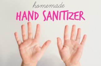 Keep Germs at Bay! Homemade Hand Sanitizer.