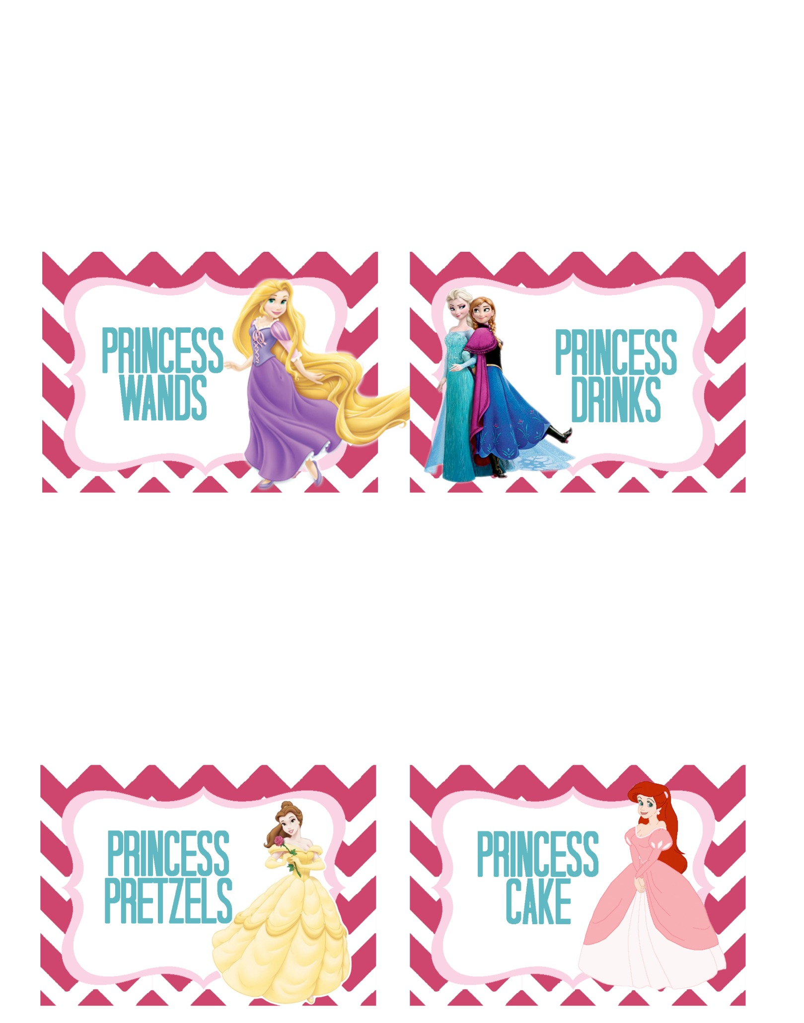 graphic regarding Disney Princess Cupcake Toppers Free Printable called Princess Get together-Totally free Printable