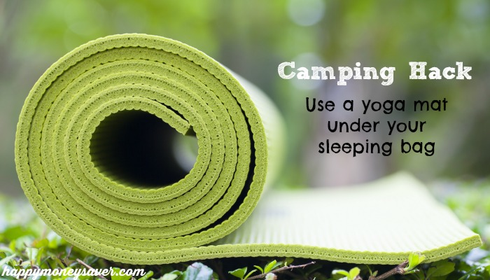 It is so easy to use these camping hacks to make your camping trip better!  They are so easy---I can't believe I never thought of them before!