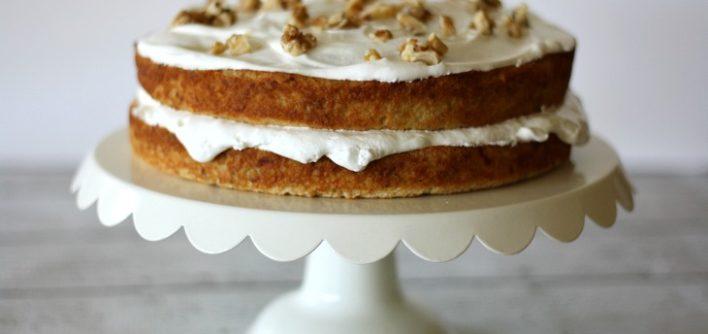 Vintage Banana Cake Recipe {From The Old Recipe Box}