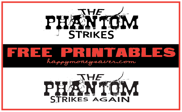 Phantom Your Neighbor Printables
