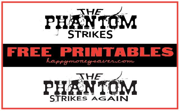 Phantom Your Neighbor Printables
