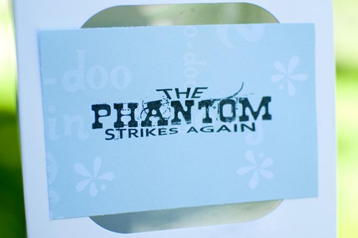 """Use this free printable to """"phantom"""" your neighbor soon! #happythoughts #phantom"""
