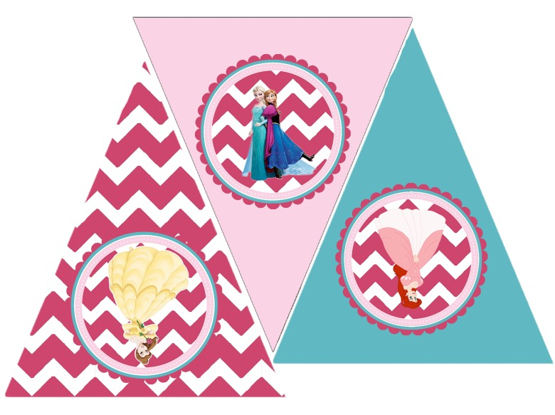 Princess Party Free Printable