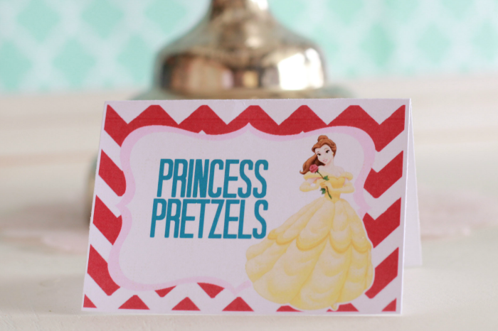 Create the perfect princess party for any girl with the free printables (#happythoughts)
