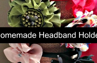 Thrifty Tip: Make your own Headband Holder