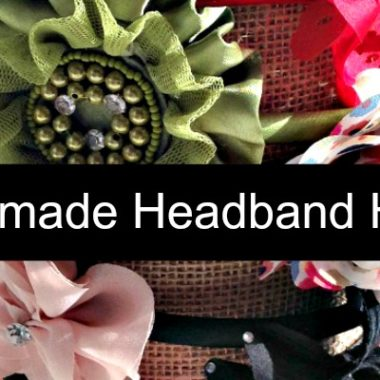 Thrifty Tip: Make your own Headband Holder
